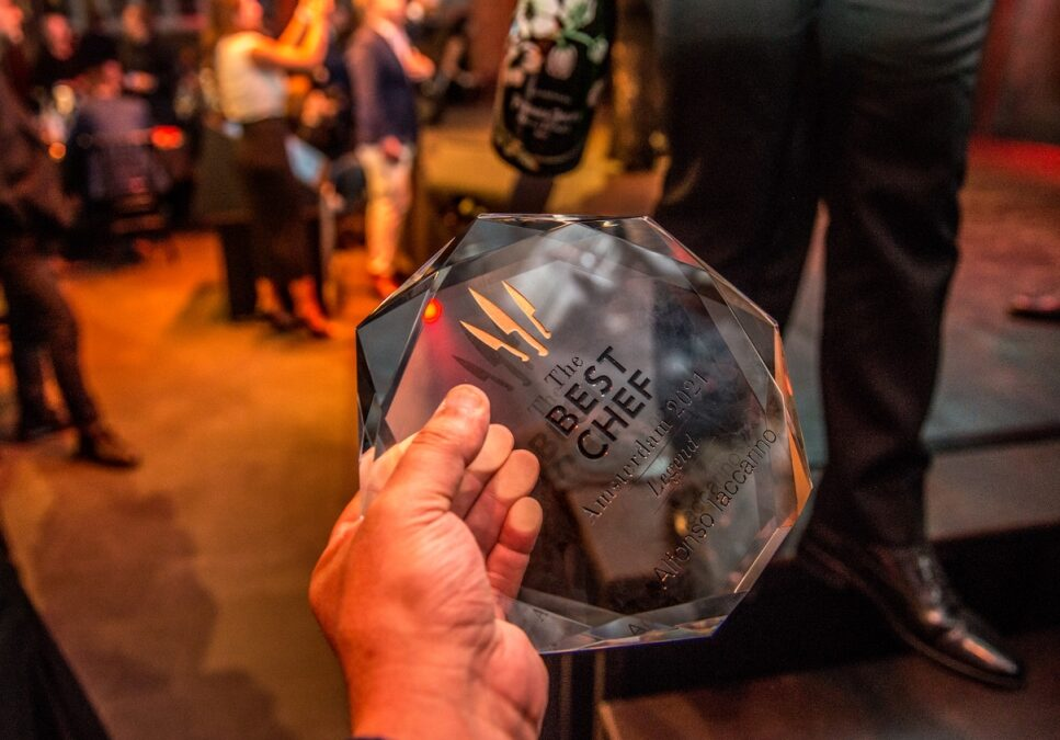 THE BEST CHEF AWARDS powered by PERLAGE 2021 AMSTERDAM